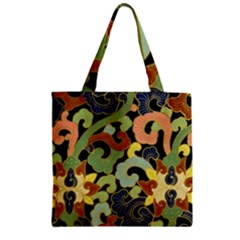 Abstract 2920824 960 720 Zipper Grocery Tote Bag by vintage2030