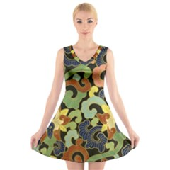 Abstract 2920824 960 720 V Neck Sleeveless Dress