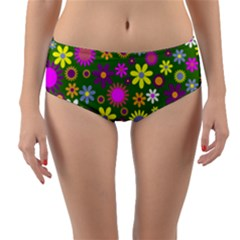Abstract 1300667 960 720 Reversible Mid Waist Bikini Bottoms