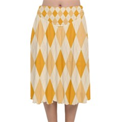 Argyle 909253 960 720 Velvet Flared Midi Skirt