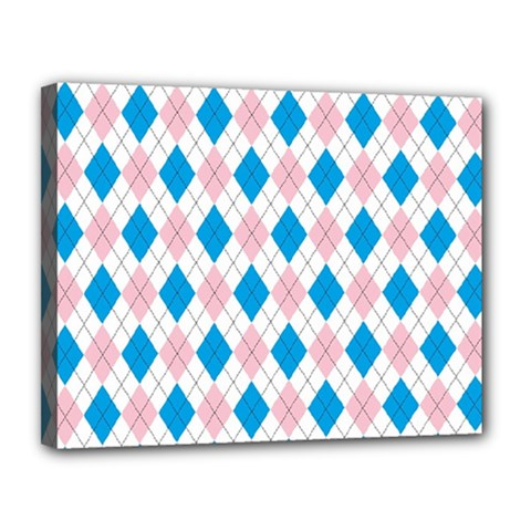 Argyle 316838 960 720 Canvas 14  X 11  (stretched)