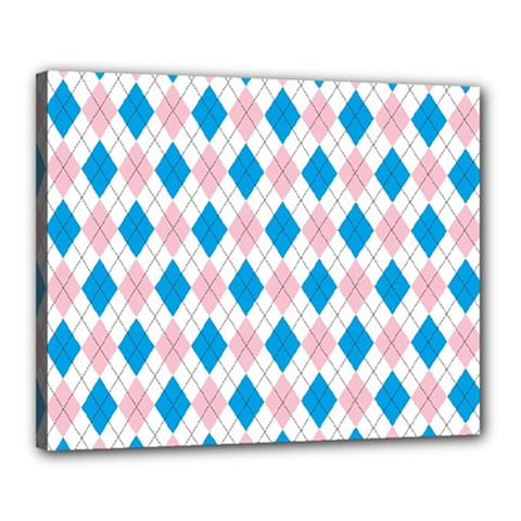 Argyle 316838 960 720 Canvas 20  X 16  (stretched)