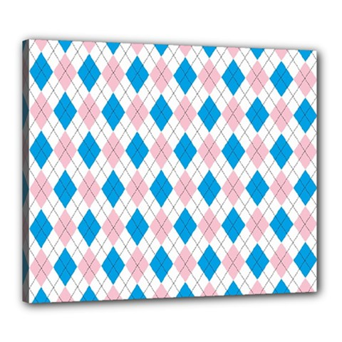 Argyle 316838 960 720 Canvas 24  X 20  (stretched)