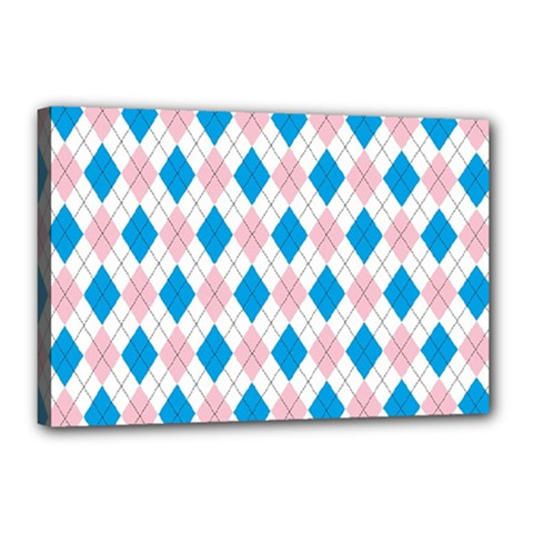 Argyle 316838 960 720 Canvas 18  X 12  (stretched)