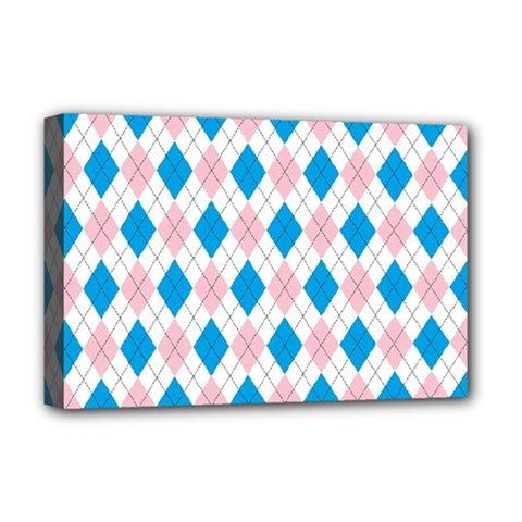 Argyle 316838 960 720 Deluxe Canvas 18  X 12  (stretched)
