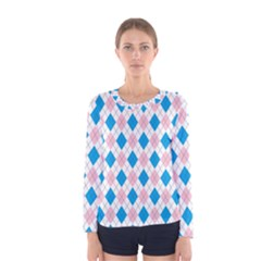 Argyle 316838 960 720 Women s Long Sleeve Tee