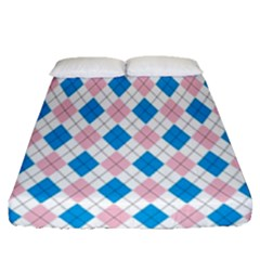 Argyle 316838 960 720 Fitted Sheet (queen Size)