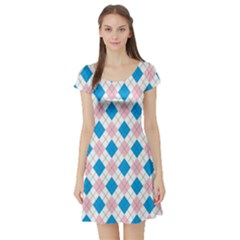 Argyle 316838 960 720 Short Sleeve Skater Dress