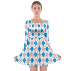 Argyle 316838 960 720 Long Sleeve Skater Dress