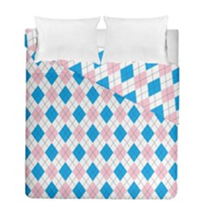 Argyle 316838 960 720 Duvet Cover Double Side (full/ Double Size)