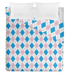 Argyle 316838 960 720 Duvet Cover Double Side (queen Size)