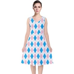 Argyle 316838 960 720 V Neck Midi Sleeveless Dress
