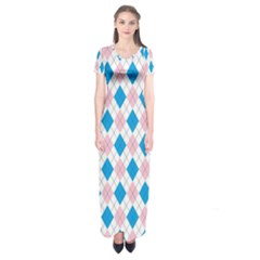 Argyle 316838 960 720 Short Sleeve Maxi Dress