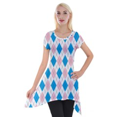 Argyle 316838 960 720 Short Sleeve Side Drop Tunic