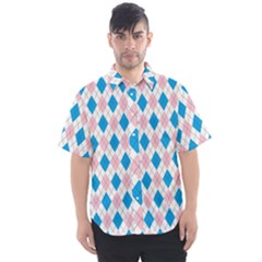 Argyle 316838 960 720 Men s Short Sleeve Shirt