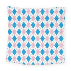 Argyle 316838 960 720 Square Tapestry (large)