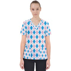 Argyle 316838 960 720 Women s V Neck Scrub Top