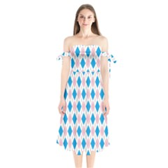 Argyle 316838 960 720 Shoulder Tie Bardot Midi Dress