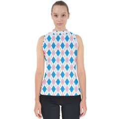 Argyle 316838 960 720 Mock Neck Shell Top