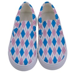 Argyle 316838 960 720 Kids  Canvas Slip Ons