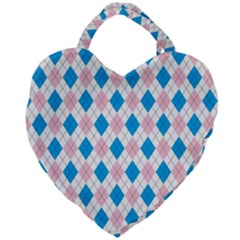 Argyle 316838 960 720 Giant Heart Shaped Tote