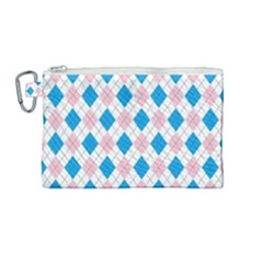 Argyle 316838 960 720 Canvas Cosmetic Bag (medium)