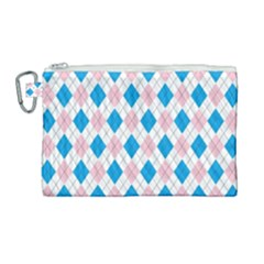 Argyle 316838 960 720 Canvas Cosmetic Bag (large)