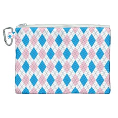 Argyle 316838 960 720 Canvas Cosmetic Bag (xl)