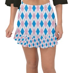 Argyle 316838 960 720 Fishtail Mini Chiffon Skirt
