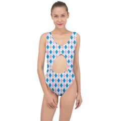 Argyle 316838 960 720 Center Cut Out Swimsuit