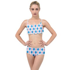 Argyle 316838 960 720 Layered Top Bikini Set