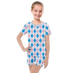 Argyle 316838 960 720 Kids  Mesh Tee And Shorts Set