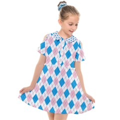 Argyle 316838 960 720 Kids  Short Sleeve Shirt Dress