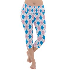 Argyle 316838 960 720 Lightweight Velour Capri Yoga Leggings