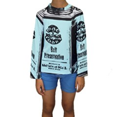 Liftarn Old Can Brown Kids  Long Sleeve Swimwear