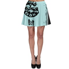 Liftarn Old Can Brown Skater Skirt