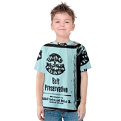 Liftarn Old Can Brown Kids  Cotton Tee