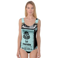 Liftarn Old Can Brown Princess Tank Leotard