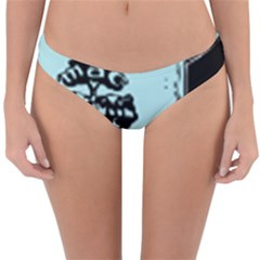 Liftarn Old Can Brown Reversible Hipster Bikini Bottoms