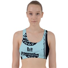 Liftarn Old Can Brown Back Weave Sports Bra