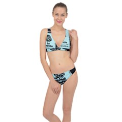 Liftarn Old Can Brown Classic Banded Bikini Set