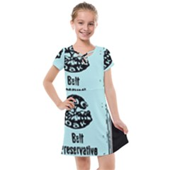 Liftarn Old Can Brown Kids  Cross Web Dress