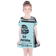 Liftarn Old Can Brown Kids  Simple Cotton Dress