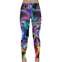 Soft Blend Color Wheel Lightweight Velour Classic Yoga Leggings