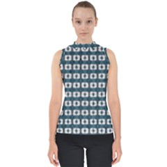 Contemplaid20 Mock Neck Shell Top by plaides