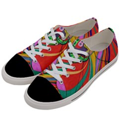 Love Women s Low Top Canvas Sneakers by nicholakarma