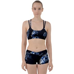Smoke Flame Dynamic Wave Motion Perfect Fit Gym Set
