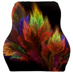 Abstract Digital Art Fractal Car Seat Velour Cushion  by Samandel
