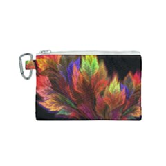 Abstract Digital Art Fractal Canvas Cosmetic Bag (small)
