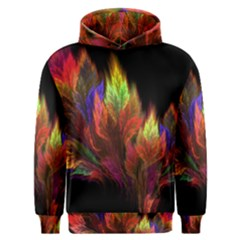 Abstract Digital Art Fractal Men s Overhead Hoodie